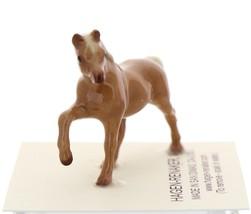 Hagen-Renaker Miniature Ceramic Horse Figurine Tiny Chestnut Mare Stallion Colt image 6