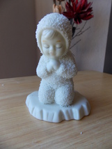 "Dept. 56 Snowbabies Retired ""Now I Lay Me Down To Sleep"" Figurine  - $25.00"