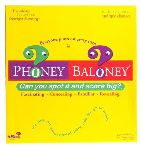 Primary image for Phoney Baloney Trivia Game