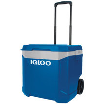 IGLOO Latitude 60 Qt Roller Cooler for Beach/Outdoor Locations - $49.99