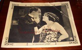 Elsie Ferguson David Powell Outcast ORG 1922 Lobby Card - $19.99