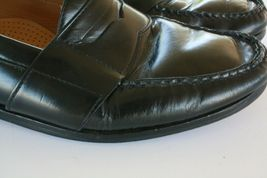 Cole Haan Men's Black Leather Slip On Casual Penny Loafers Size 8.5 M EUC image 5