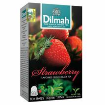 Dilmah pure flavoured black tea vanilla ceylon in bags delivery... - $5.84