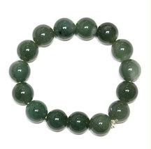 Free Shipping -  handmade dark green jadeite bracelet ,  Grade AAA Natur... - $30.00