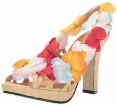 Ellie Shoes Women's 402-luau Wedge Sandal 9 Multi - $34.65