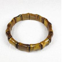 Free Shipping - Natural yellow tiger eyes gemstone beaded , Prayer Beads charm b - $25.99