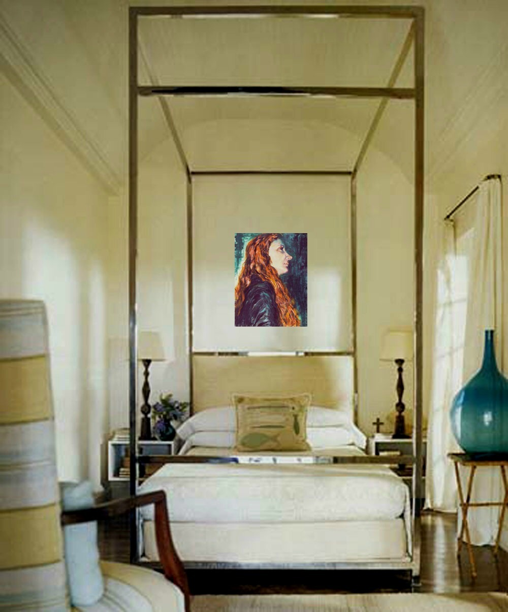 Tiziana 2001 (An Original Portrait Painting)