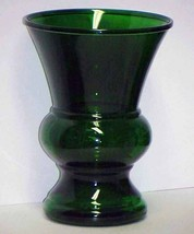 Vintage Retro Green Glass Vase - Huge - $40.00