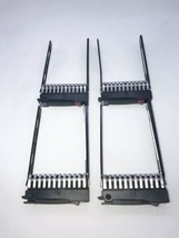 Lot of 4 HP Server 2.5-in C1418SPM006 Hard Drive Caddy Tray - $25.73