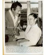 Gilbert ROLAND Weds GUILLERMINA ORG 1955 Candid PHOTO - $24.99