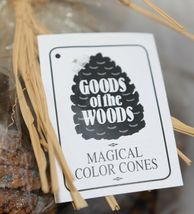Goods Of The Woods 10105 Magical Color Pine Cones For Fires image 3