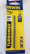 """Irwin Drill Bit Turbomax 11/64"""" 73311 - $3.94"""