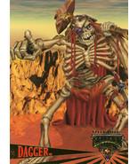 Fleer Ultra Skeleton Warriors Promo Card - Dagger - $0.99