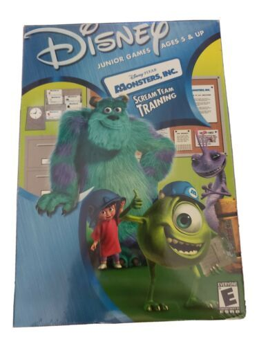 Primary image for Disney Junior Games: Monsters, Inc. Scream Team Training (PC/Mac Game) *New*