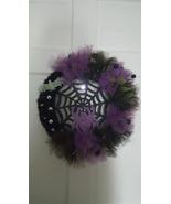 Homemade Tulle 17 in. Lighted Halloween Wreath - $50.00