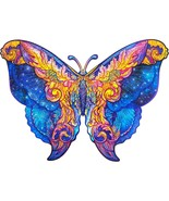 "Unidragon Wooden Jigsaw Puzzles ""Intergalaxy Butterfl"" Wooden Puzzles - ... - $89.99"
