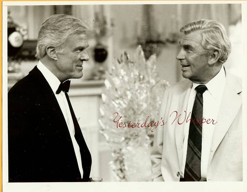 Robert Culp Andy Griffith Matlock 1987 Vintage TV Photo