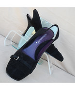 Black Suede Shoes Aerosoles Size 6.5 - $18.00