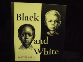 SOCIOLOGY BOOK ~ BLACK AND WHITE BY DAVID ARKIN GRADE 1968  - $84.15