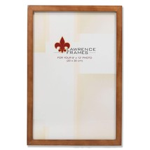 Lawrence Frames 766082 Nutmeg Wood Picture Frame, 8 by 12-Inch - $18.80