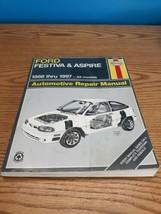 1988 Thru 1997 Ford Festiva & Aspire Haynes Repair Manual #36030 - $9.85