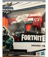 NERF Micro Shots Fortnite  Micro TS Dart Firing Toy w/ 2 Official Elite ... - $10.69