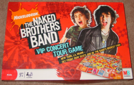 Naked Brothers Band Nickelodeon Vip Concert Tour Game 2008 Complete - $10.00