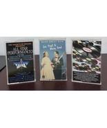 Lot Of 3 Cassette Tape Music - $9.50