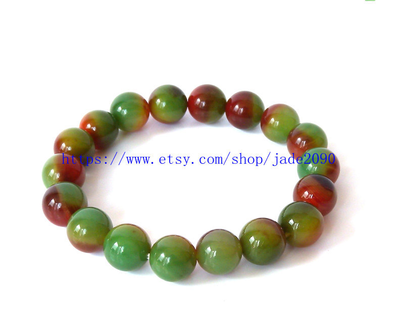 Primary image for Free Shipping - good luck Natural  Colorful agate  Prayer Beads charm beaded Ros