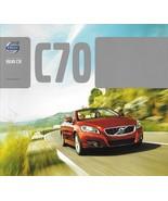 2013 Volvo C70 sales brochure catalog 2nd Edition 13 US T5 Premier Plus ... - $10.00