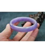 FREE SHIPPING -  Top quality  Natural  lavender  jade / Purple jade wome... - $120.00