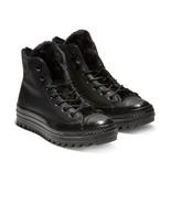 Converse Womens CTAS Hi Street Warmer Ripple Boot 562422C Black NWB - $54.98