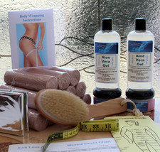 Body Wrap Deluxe Kit - Lose Cellulite and Inches - LOSE 4 TO 25 INCHES I... - $62.90