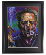 Bill Lopa Signed Framed Jack Nicholson 18x24 Giclee - $296.01