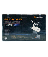 Celestron Cometron FirstScope 76 Beginners Astronomy Tabletop Telescope - $93.73