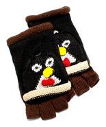 D & Y Womens Kids Knot Winter Hand Gloves Flip Top Penguin Wool Blend Mi... - $17.99