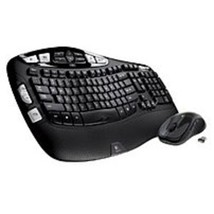 Logitech 920-002555 MK550 2.4 GHz Wireless Keyboard, Mouse - Laser - USB... - $71.02