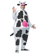 Cow Costume Hoopster Adult Men Women Animal Halloween Party One Size GC6620 - $57.99