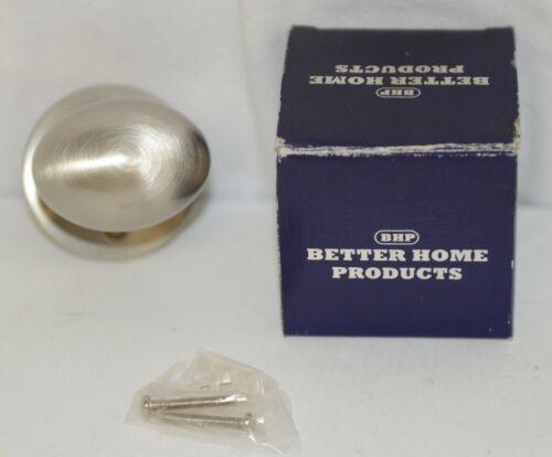 Better Home Products 61915SN Egg Knob Handle Set Trim Satin Nickel