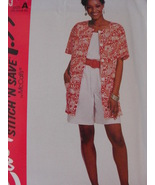 Easy McCALLS Stitch and Save 7043 Pattern Sizes 10 12 14 and - $4.95