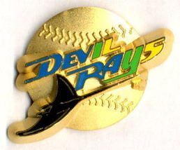 MLB Licensed Pin Tampa Bay Devil Rays Baseball Pin - $5.00