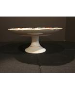 Arita China, Imari Fan Pedestal 10 ¼ Inch Cake Stand - $60.00