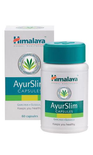Himalaya AyurSlim 60cap Ayurvedic slimming solution retail 15.99$