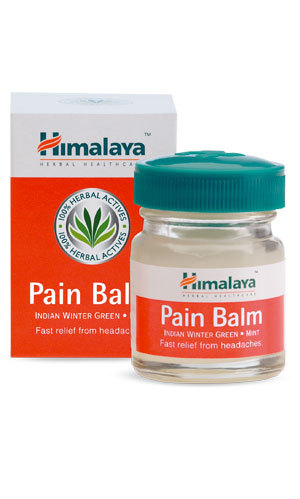 Himalaya Pain Balm 10g enriched with Indian Winter Green, Mint & Chir Pine oils