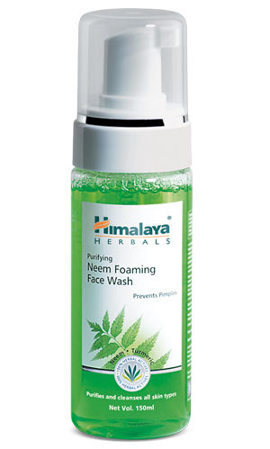 Himalaya Purifying Neem Foaming Face Wash 50ml Neem, Turmeric and Vetiver.