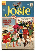 Josie #22 1968- Archie Comics- Superhero cover - $18.92