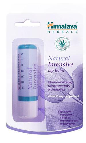 himalaya Natural Intensive Lip Balm 4.5g heals sore and cracked lips.