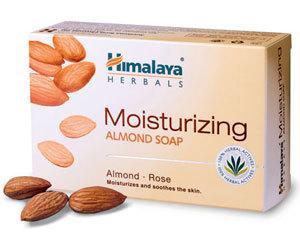 Himalaya Moisturizing Almond Soap 75g with lemon,apricot,coconut for toning skin