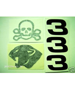 """DALE EARNHARDT""""SKULL & BONES #3""""CUSTOM-DECALS1/24 - $2.95"""
