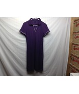 Tommy Hilfiger Purple Casual Collared Shirt-Dress Sz L - $89.10